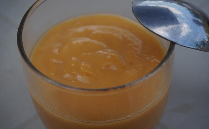 Crème dessert abricot