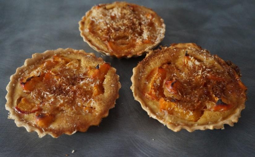 Tartelettes abricot coco