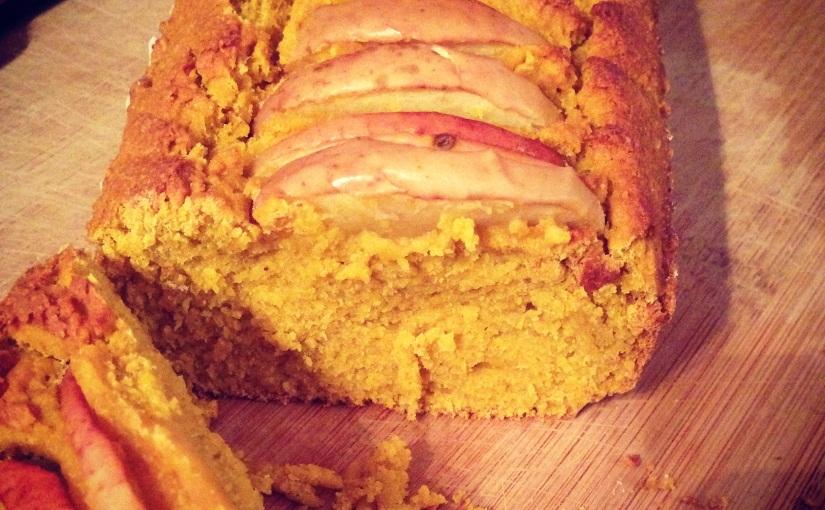 Cake butternut, pomme, cannelle (vegan, sansgluten)