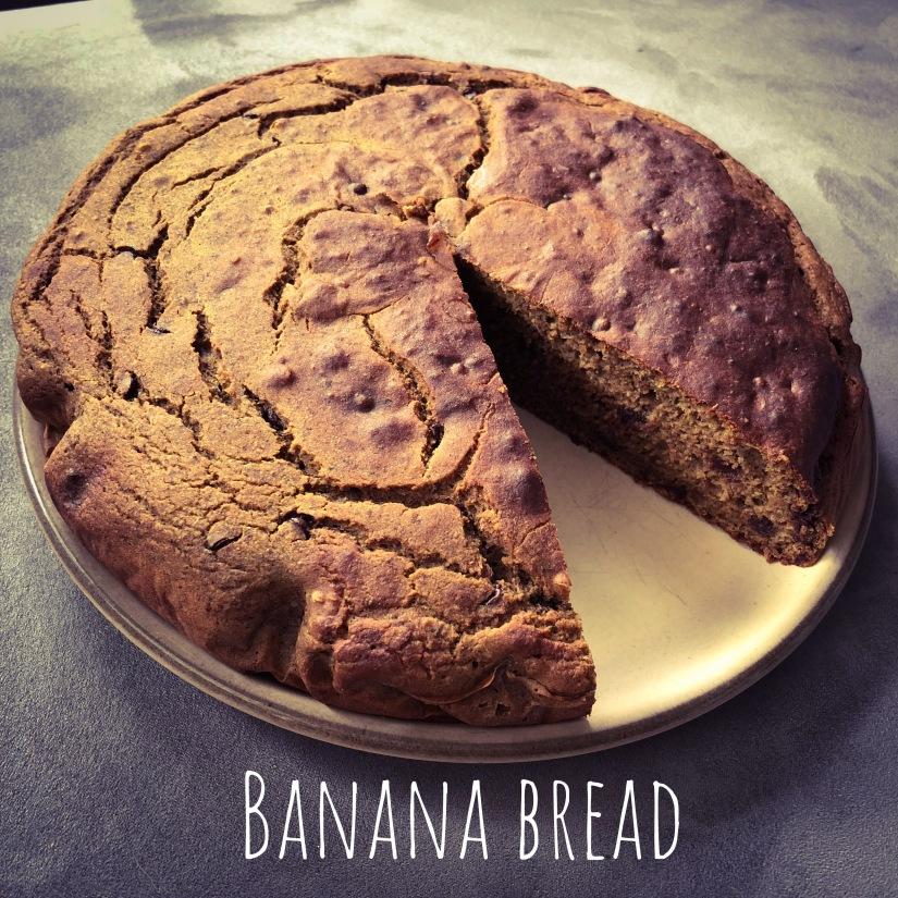 Banana bread sans gluten (aux pépites dechocolat;))